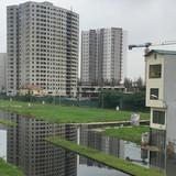 Bơm nước làm ngập khu dân cư