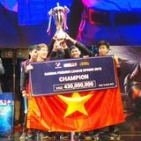 Đội tuyển Việt Nam vô địch eSports Đông Nam Á 2015