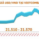 Tháng 3, tỷ giá USD/VND tăng 0,9%