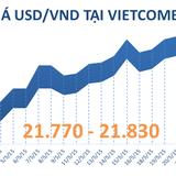 Tỷ giá USD tăng mạnh phiên đầu tuần, chỉ cách trần 35 đồng