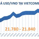Sáng 29/5: Tỷ giá USD/VND bắt đầu chững lại