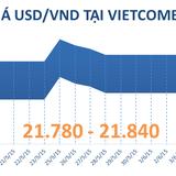 Cuối tuần, tỷ giá USD/VND bất động