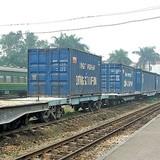 Bao giờ container lên được đường sắt?