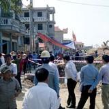Hàng trăm người dân ngăn cản thi công dự án đường cao tốc Hà Nội - Hải Phòng