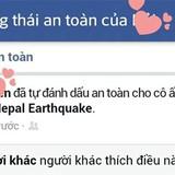 """Facebook bổ sung chức năng """"Tôi an toàn"""" tại Nepal"""