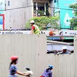 Dừng thi công 8 nhà ga Metro Hà Nội sau tai nạn rơi sắt