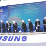 Samsung khởi công nhà máy 1,4 tỷ USD tại TP.HCM