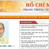 Khai trương Trang thông tin điện tử mang tên Chủ tịch Hồ Chí Minh