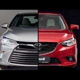 [Infographic] Mazda6 - Toyota Camry, ai hơn để chọn?