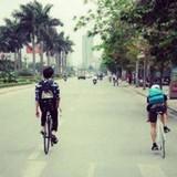 Giao hàng bằng xe đạp, công việc nhiều trải nghiệm lý thú