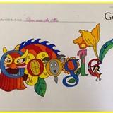 Công nghệ 24h: Google lấy tranh của trẻ em Việt Nam đăng trang chủ