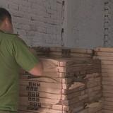 Phát hiện lô hàng gạch men Trung Quốc nhập lậu