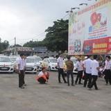 Hơn 30 lái xe của hãng Taxi Sun đồng loạt đình công