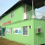 Nhà container không móng giá 100 triệu đồng ở Sài Gòn