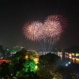 Hà Nội bắn pháo hoa tầm cao tại 5 điểm tối 2/9