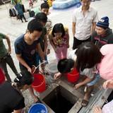 5.000 hộ dân Hà Nội mất nước sạch 3 ngày