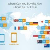 Soi bảng giá iPhone 6S và 6S Plus trên toàn thế giới