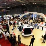 """150 mẫu xe """"hội tụ"""" tại triển lãm ô tô Việt Nam"""