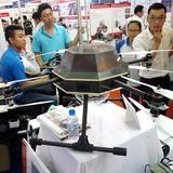 Hai mẫu máy bay không người lái nổi bật tại Techmart 2015