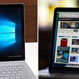 """So kè MacBook Pro với """"kẻ ngáng đường"""" Surface Book"""