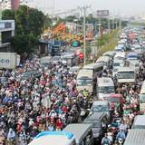 Đề xuất xén vỉa hè để giảm ùn tắc ở Sài Gòn