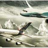 Airbus và Boeing: Cuộc chiến giành bầu trời bất phân thắng bại