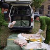 450 kg nầm lợn thối từ Trung Quốc tuồn vào Việt Nam