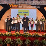 Nam A Bank được vinh danh top 50 doanh nghiệp đạt thành tựu xuất sắc 2011 - 2015