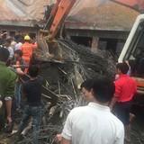 Sập công trình đang xây ở Hà Tĩnh, nhiều người gặp nạn