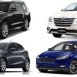 """Những mẫu ôtô """"nổi bật"""" ra mắt tại Việt Nam năm 2015"""