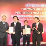 """Viet A Bank 6 năm liền đạt danh hiệu: """"Thương hiệu Việt được yêu thích nhất năm 2015"""""""