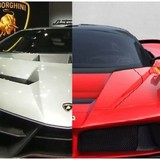 "Lamborghini vs Ferrari: Khi ""Bò rừng"" đòi cưỡi ""Ngựa hoang"""