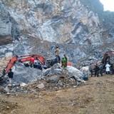 Vụ sập mỏ đá ở Thanh Hóa: 4 người chết, 3 người bị vùi lấp