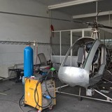 """""""Hai lúa"""" chế tạo máy bay: Dừng tập bay vì bị kiểm tra"""