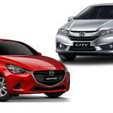 Mazda 2 sedan vs Honda City: Cùng phân khúc giá nên chọn mẫu xe nào?
