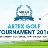 "Artex Golf Tournament ""xông đất "" FLC Samson Golf Links"