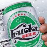 """Hàng loạt lon bia Huda bị """"ăn bớt"""" dung tích"""