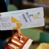 Hình ảnh PVcomBank xuất hiện trên Boarding Pass  của Vietnam Airlines