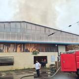 Cháy lớn tại Khu công nghiệp Quế Võ, thiệt hại hơn 12 tỷ đồng