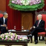 Quà lưu niệm Tổng bí thư tặng Tổng thống Obama