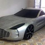 """Thợ máy Việt tự chế """"siêu xe"""" Aston Martin One77 Police"""