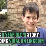 11 tuổi khởi nghiệp từ việc đổ rác để kiếm tiền vào đại học