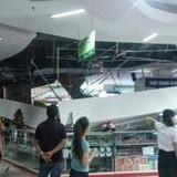 Sập trần siêu thị Big C, nhiều khách hàng tháo chạy