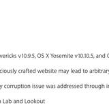 Apple vá khẩn cấp lỗ hổng nghiêm trọng trên Safari và OS X