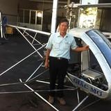 """Chiếc trực thăng """"Giấc mơ"""" của kỹ sư 62 tuổi cất cánh"""