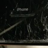 Hình ảnh iPhone 7 Plus Jet Black bị trầy xước nặng nề