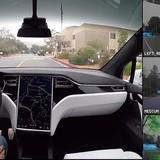 Xe tự lái của Tesla sẽ nhìn thấy gì trên đường?