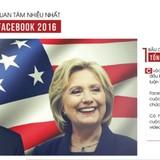 [Infographic] 10 sự kiện được quan tâm nhiều nhất trên Facebook năm 2016