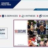 Giả trang web cảnh sát Singapore để lừa tiền