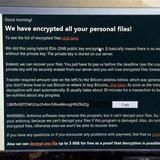 Ransomware tự giải mã do nạn nhân quá nghèo